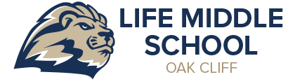 Life Oak Cliff Middle Schools Logo