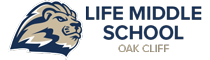 Life Middle School Oak Cliff Logo Retina