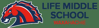 Logotipo de Life Waxahachie Middle Schools