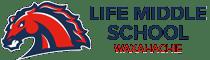 Life Waxahachie Middle Schools Logotipo Retina