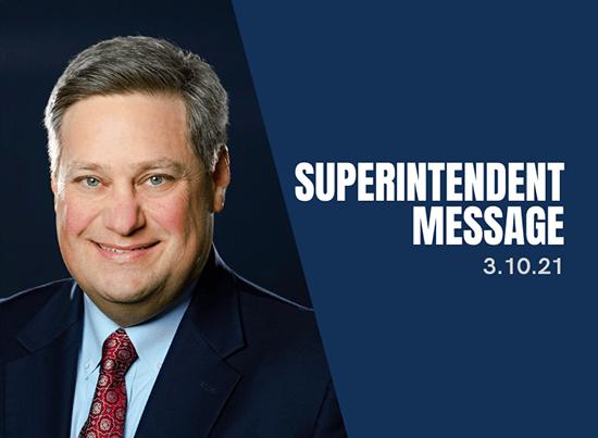 superintendent message 0310