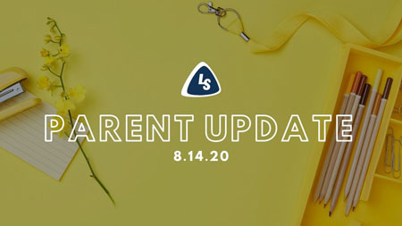 Parent Update | 8.14.20