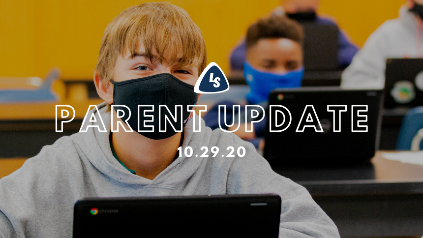 Parent Update | 10.29.20