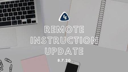 Remote Instruction Update | 8.7.20