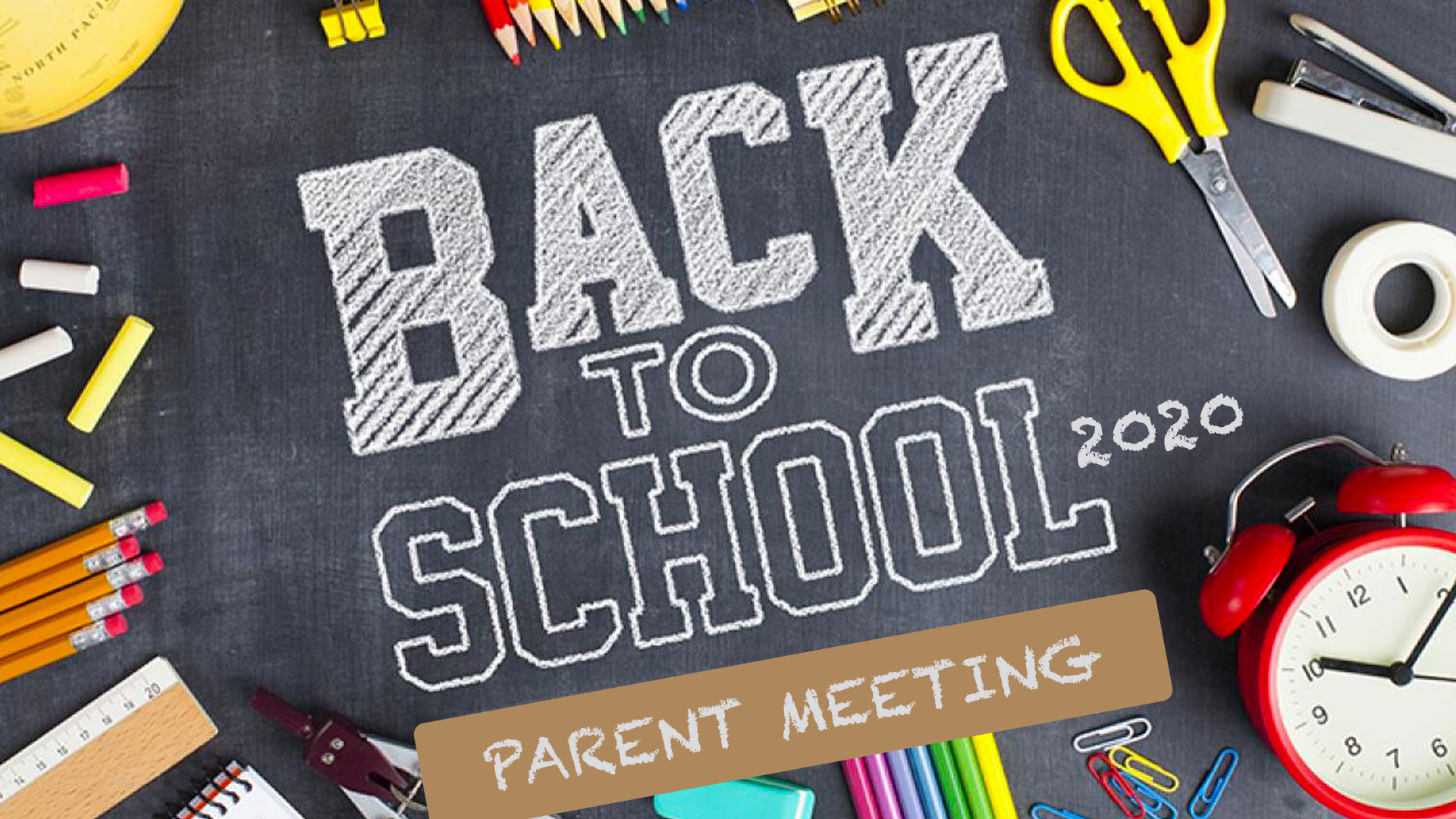 Video: Parent Meeting | 7.29.20