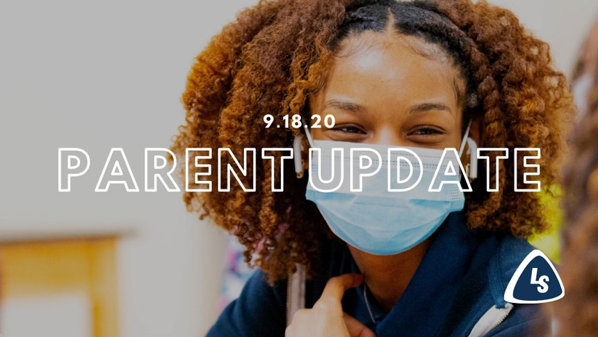 Parent Update | 9.18.20