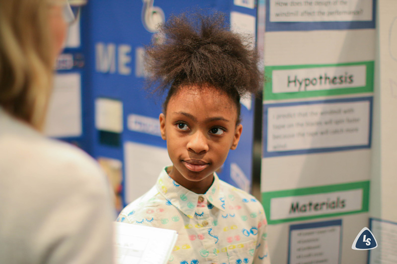 Cedar Hill Kids at Science Fair