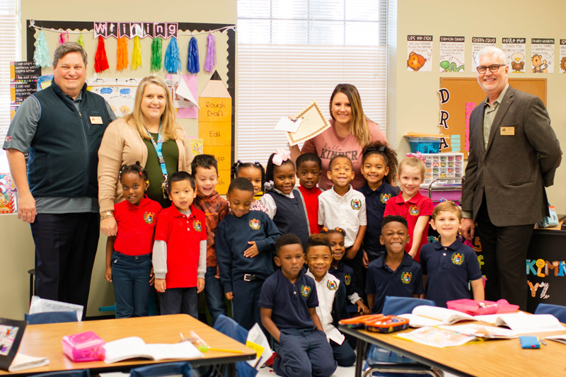 Student Celebrate Teacher of the Month