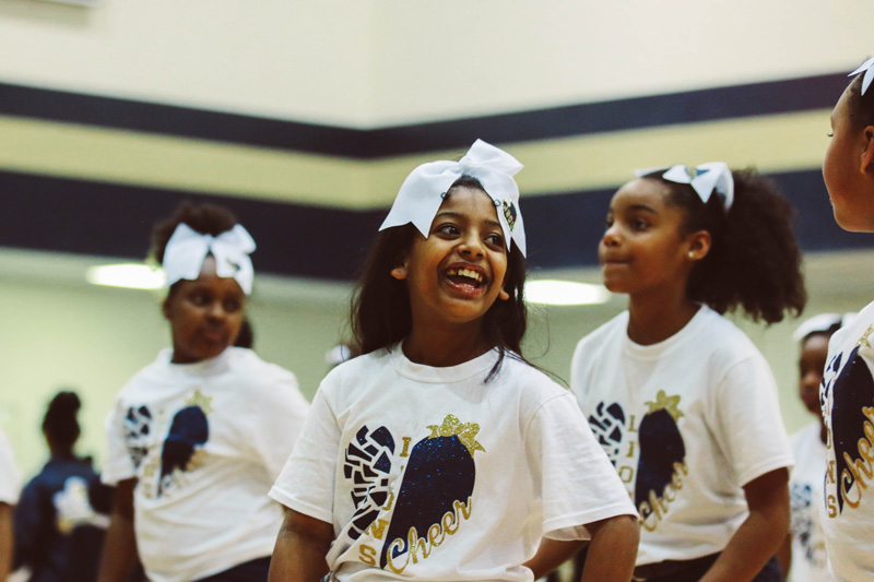 Students Cheerleading 5